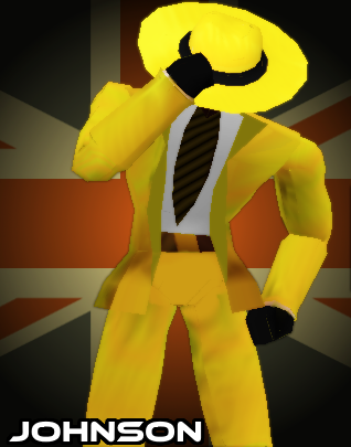 Mystery Johnson, official game render