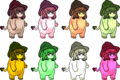 UFDK2 kinoko Colors.png